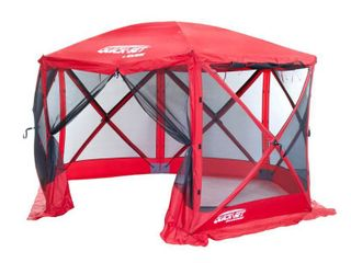 Escape Sport Screen Shelter   6 side   Red Red