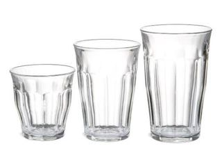 Duralex 17 625oz Picardie Glasses   18 Piece Set