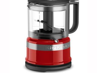 KitchenAid Refurbished 3 5 Cup Mini Food Processor   Red RKFC3516ER