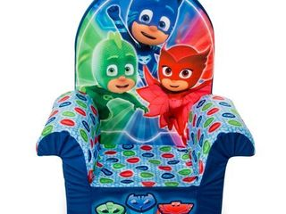 Marshmallow Furniture Children s Foam High Back Chair PJ Masks High Back Chair  Multi Colored
