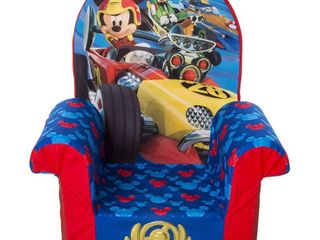 Mickey Mouse Children s Foam High Back Chair Marshmallow Furniture  Original Red