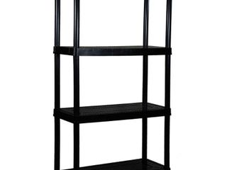 Gracious living 4 Shelf Medium Duty Shelf Unit