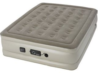 Insta bed 19  Raised Queen Air Mattress with neverFlAT Ac Pump