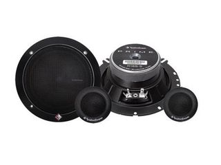 2  ROCKFORD FOSGATE R165 S 6 5  80 Watt 2 Way Prime Series Car Component System
