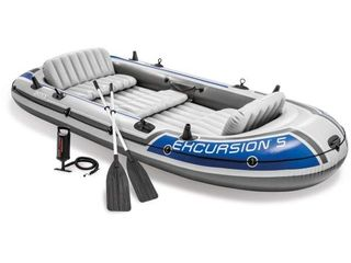 Intex Excursion 5 Boat Set   2013 Model