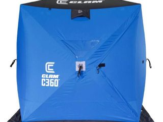 Clam C 360 Hub Ice Fishing Shelter   6x6  114474