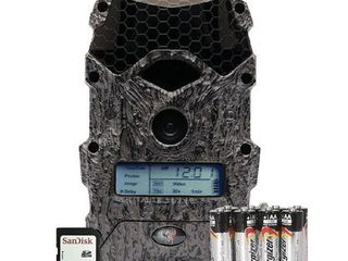 WIlDGAME INNOVATIONS MIRAGE 16MP lIGHTSOUT GAME CAMERA BUNDlE  BATTERIES AND SD CARD INClUDED