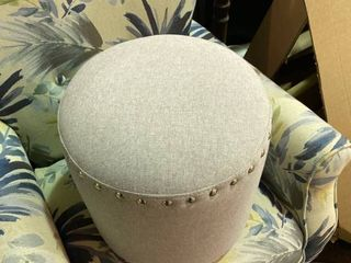 Foot Stool Grey