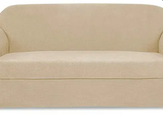 Subrtex Stretch loveseat Slipcover 2 Piece