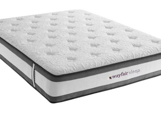 King Size Wayfair Sleep 12  Medium Hybrid Mattress   459 99 Retail
