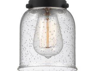 5 75  H Glass Bell Pendant Shade   Fitter   in Seedy  Retail   39 99 Qty 2
