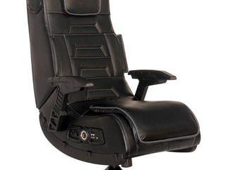 Pro Series Pedestal Wireless Gunstock Arms  Tilt Swivel  2 1 Vibration   Black   X Rocker