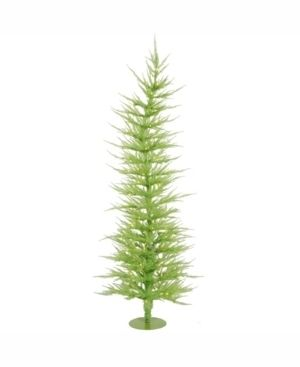 Vickerman 5 ft lime Green laser Artificial Christmas Tree With 100 lime led lights