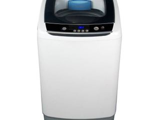 Black   Decker 0 9 cu ft Compact Washer  White