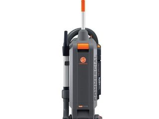Hoover Commercial CH54115 HushTone Hard Bagged Upright with Intellibelt  15