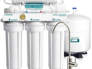 ROES PH75   Essence Alkaline Mineral 6 Stage 75 GPD Reverse Osmosis Drinking Water System WQA Certified