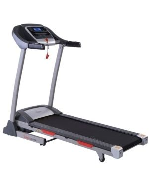 Sunny Health   Fitness Portable Treadmill with Auto Incline  lCD and Shock Absorber a SF T7705