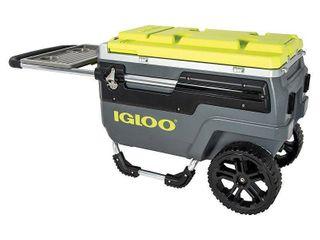Igloo Trailmate 70 Quart Cooler Grey 199  retail price
