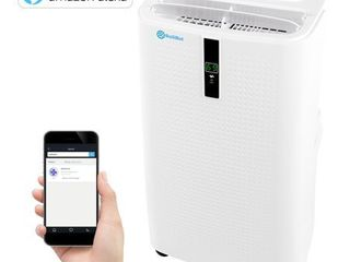 Alexa Enabled RolliCool COOl310 Portable Air Conditioner 12000 BTU IJ Air Conditioner with Heater  Dehumidifier  and Fan with Mobile App