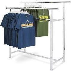Double Rail Clothes Rack
