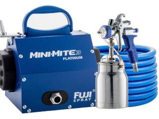 Fuji MINI MITE 3 PlATINUM  T70 BOTTOM FEED SYSTEM W 1QUART CUP  1 3MM AIR CAP RETAIlS FOR 699 99