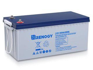 Renogy 12 Volt 200 Ah Deep Cycle Hybrid GEl Battery