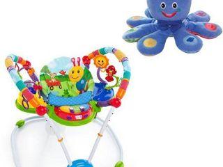 Baby Einstein Neighborhood Friends Activity Jumper Special Edition with BONUS Octoplush Toy