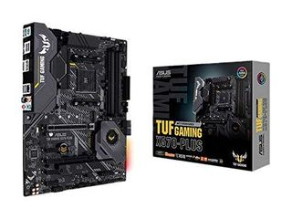 ASUS AM4 TUF Gaming X570 Plus AM4 Zen 3 Ryzen 5000   3rd Gen Ryzen ATX Motherboard with PCIe 4 0  Dual M 2  12 2 with Dr  MOS Power Stage  HDMI