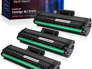 E Z Ink  TM  Compatible Toner Cartridge Replacement for Samsung 101 MlT D101S to use with Ml 2165W SCX 3405W SCX 3405FW Ml 2165 SF 760P  3 Black