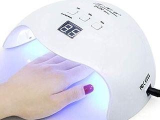 Gel UV lED Nail lamp lKE Nail Dryer 40W Gel Nail Polish UV lED light with 3 Timers  White