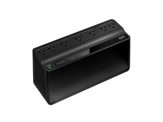 APC UPS  600VA UPS Battery Backup   Surge Protector with USB Charging Port  Uninterruptible Power Supply  Back UPS Series  BE600M1  DAMAGED