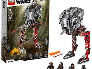 lEGO Star Wars AT ST Raider 75254 The Mandalorian Collectible All Terrain Scout Transport Walker Posable Building Model  540 Pieces