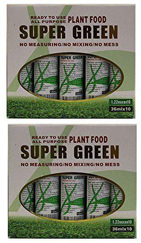 Kl Design   Import   20 Bottles of Super Green Green lucky Bamboo Fertilizer Plant FoodNEW
