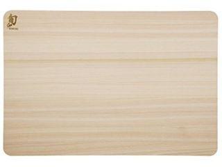 Shun DM0814 Hinoki Cutting Board  Small