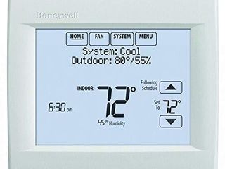 Honeywell TH8321WF1001 U Wi Fi 8000 for Residential or Commercial Use  Stages Up to Up to 3 Heat 2 Cool