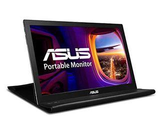 ASUS MB168B 15 6  WXGA 1366x768 USB Portable Monitor Black Silver