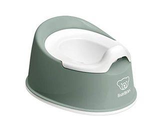 BabyBjArn Smart Potty  Deep Green White