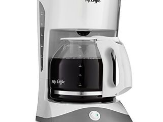 Mr  Coffee 12 Cup Manual Coffee Maker  White