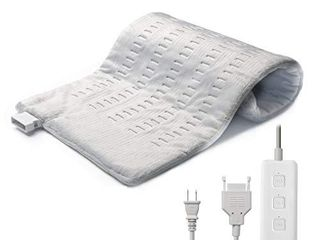 Heating Pad for Back Pain Relief  Ultra Soft Fast Heated Pad for Cramps   King Size 12 x24  Xl with Moist   Dry Heat Therapy for Pain Relief 3 Heat Settings Auto Shut Off Heat Pad