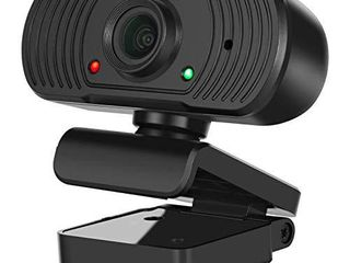 PC Webcam Desktop   laptop 1080P Full HD USB Computer Web Camera with Microphone Widescreen 110 Degree Extended View for Mac YouTube Skype live Streaming WeChat OBS Zoom FaceTime Video Conferencing