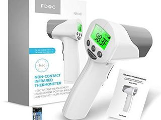 Medical Grade Heavy Duty Touchless Infrared Forehead Thermometer