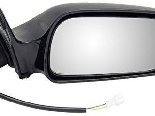 Dorman 955 448 Passenger Side Power Door Mirror for Select Toyota Models  Black