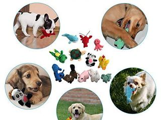 Squeaky Plush Dog Toy Pack for Puppy  Small Stuffed Puppy Chew Toys 12 Dog Toys Bulk with Squeakers  Cute Soft Pet Toy for Small Medium Size Dogs