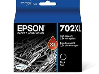 Epson T702Xl120 S DURABrite Ultra Black High Capacity Cartridge Ink