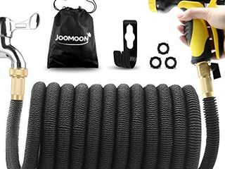 Panda Grip  Updated 3750D Garden Hose 75ft  Expandable Garden Water Hose Flexible Strongest Triple latex Core with 3 4 Solid Brass Fittings 10 Function Spray Nozzle for Watering and Cleaning