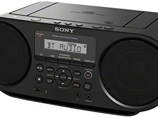 Sony Portable Bluetooth Digital Turner AM FM CD Player Mega Bass Reflex Stereo Sound System