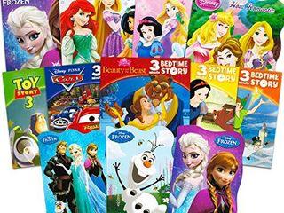Disney Frozen Pixar Princess Board Book Set   Bundle Includes 12 Books for Toddlers