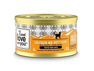I and love and you Naked Essentials Canned Wet Cat Food   Grain Free  Chicken Recipe  5 5 Ounce  Pack of 12 Cans