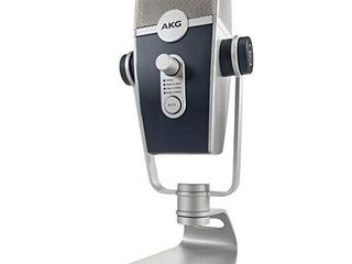 AKG Pro Audio lyra Ultra HD  Four Capsule  Multi Capture Mode  USB C Condenser Microphone for Recording and Streaming