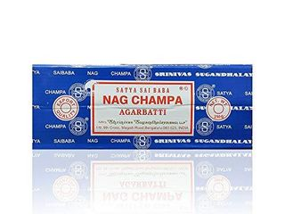Satya Sai Baba Nag Champa Agarbatti Incense Sticks Box 250gms Hand Rolled Agarbatti Fine Quality Incense Sticks for Purification  Relaxation  Positivity  Yoga  Meditation lot of 2 Boxes  Not Fully Inspected